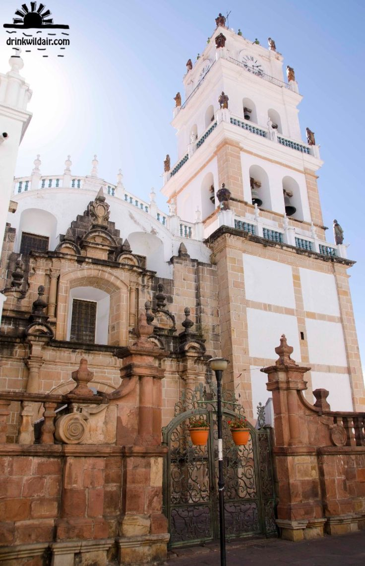 Catedral de Sucre, Sucre, Bolivia - La Catedral de Sucre se encuentra justo en la plaza principal de Sucre.