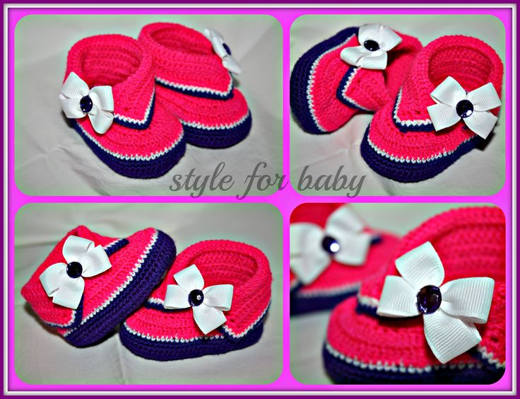 KB30 crochet shoes for baby https://www.facebook.com/babyforstyle