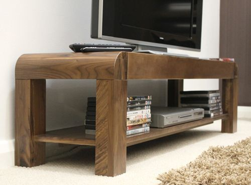 Shiro Walnut Low TV Cabinet #wood #furniture #livingroom #lounge #bedroom #office #study #hallway #modern #contemporary #minimalist #interior #home #decor #interiorinspiration #television #cabinet