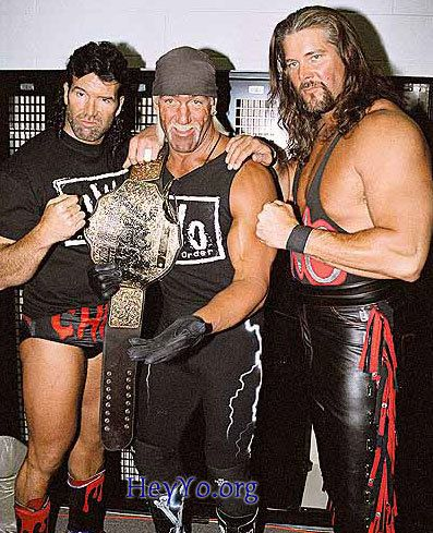 Scott Hall, Hollywood Hogan & Kevin Nash... the NWO
