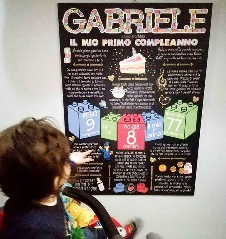 """""""Mi piace"""": 1, commenti: 1 - @lavagnettiamo su Instagram: """"Il piccolo Gabriele è appassionato di costruzioni...quando la mamma ci ha scritto ad Andrea sono…"""""""