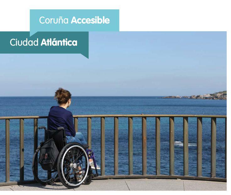 #ACoruña, ciudad acogedora, hospitalaria, abierta al mar inmediato y al espíritu viajero y emprendedor, es también cada vez, una ciudad más accesible. Descarga la guía #CoruñaAccesible