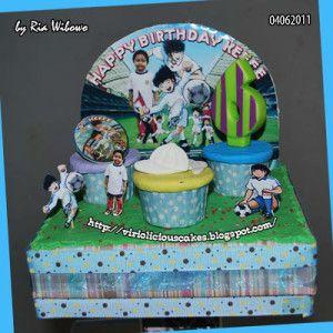 tsubasa cakes design