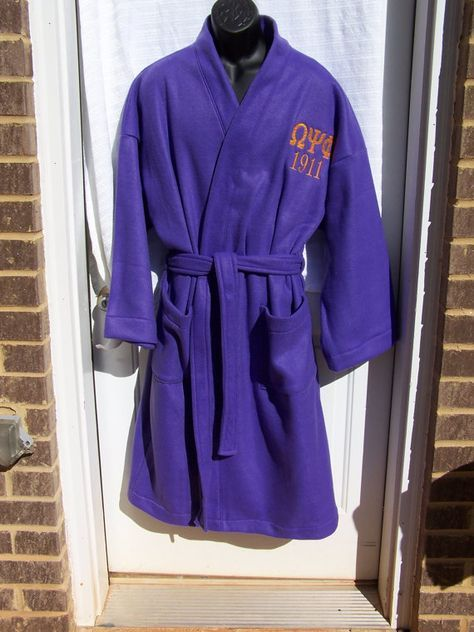 Omega Psi Phi Greek Letter Embroidered Purple by MoDessaDesigns, $52.00