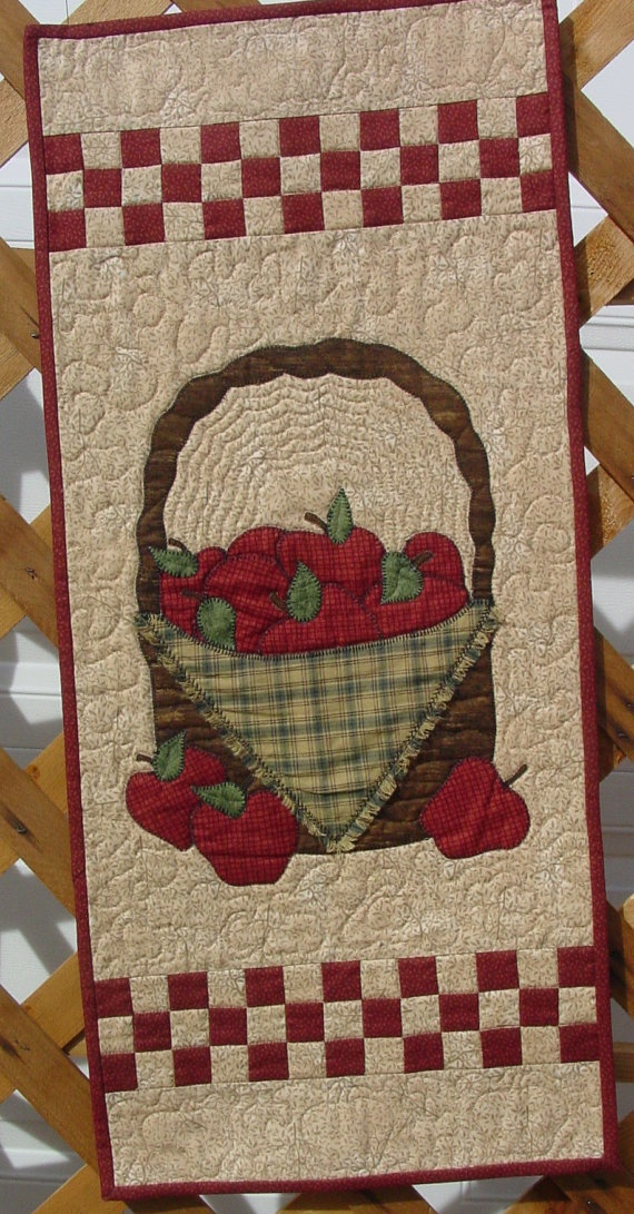 Apple Basket Kit and Pattern Quilted Wall by TheQuiltShopWI, $27.25