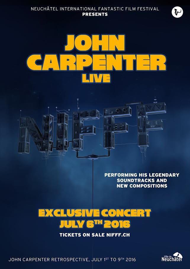 Compte rendu du fabuleux concert de John Carpenter au NIFFF en Suisse