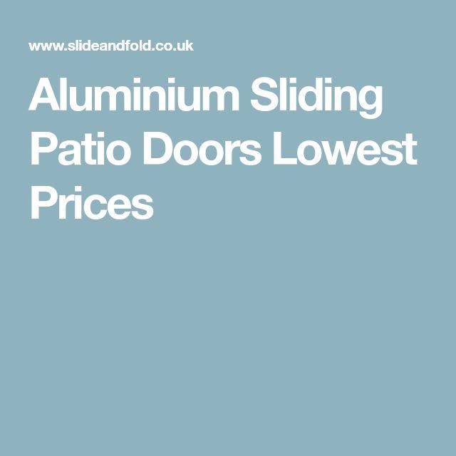 Aluminium Sliding Patio Doors Lowest Prices