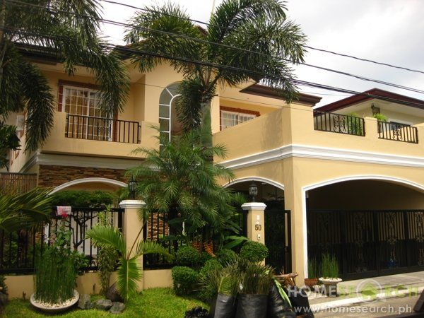 292 best images about philippine houses on pinterest the for Two story homes with balcony