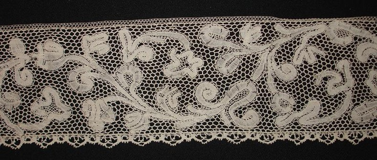early 18th century Flemish lace