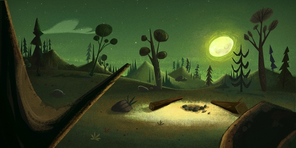 BG - ANIMATION BACKGROUNDS - CN by GABRIELA OMANN, via Behance