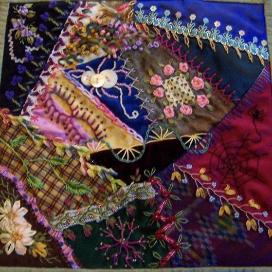 Creating crazy quilts was a popular pastime during the Victorian era. Learn crazy quilt stitches in a workshop scheduled for November 2013.