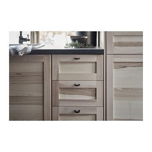 torhamn sett 2 stk d rer t benkehj rneskap natur ask doors and ikea. Black Bedroom Furniture Sets. Home Design Ideas