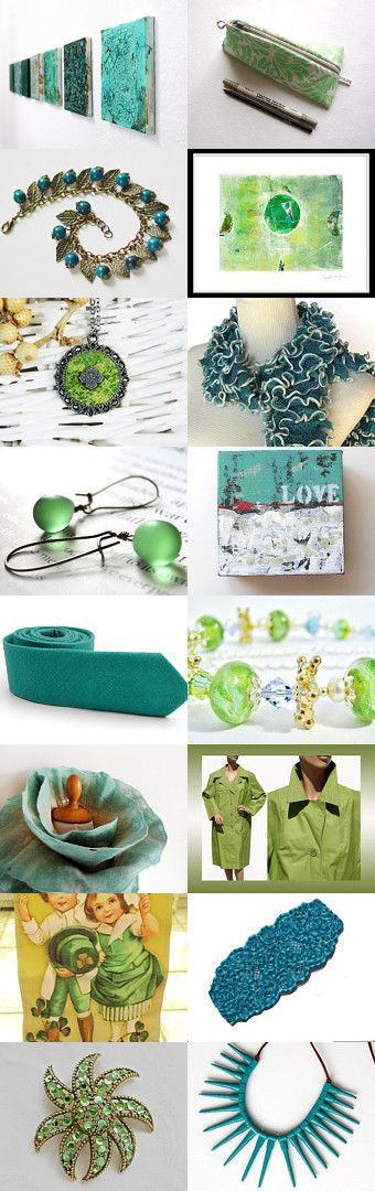 Green! by Regina Beckers on Etsy--Pinned with TreasuryPin.com