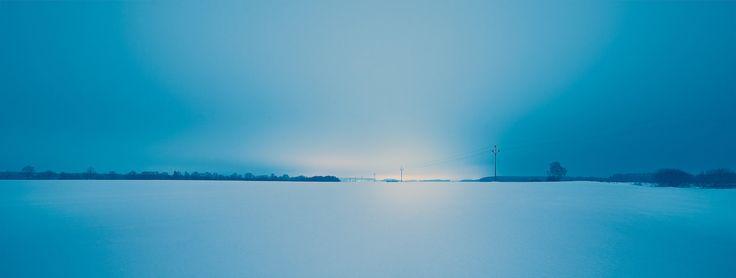 Winter field by Jakub Nedbal www.jakubnedbal.com
