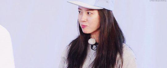 Song Ji Hyo, Running Man ep. 299. © on gif
