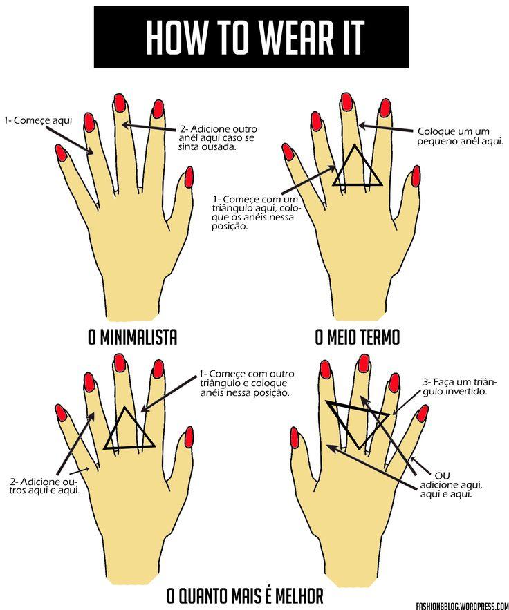 Anéis de falange são o hit do momento. Veja como usá-los no Fashion B. #aneisdefalange #comousar
