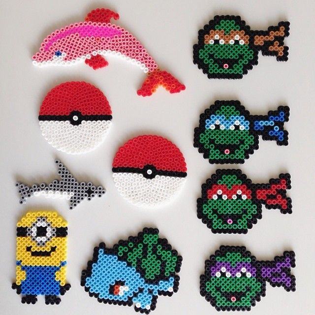 Perler bead crafts by emejan