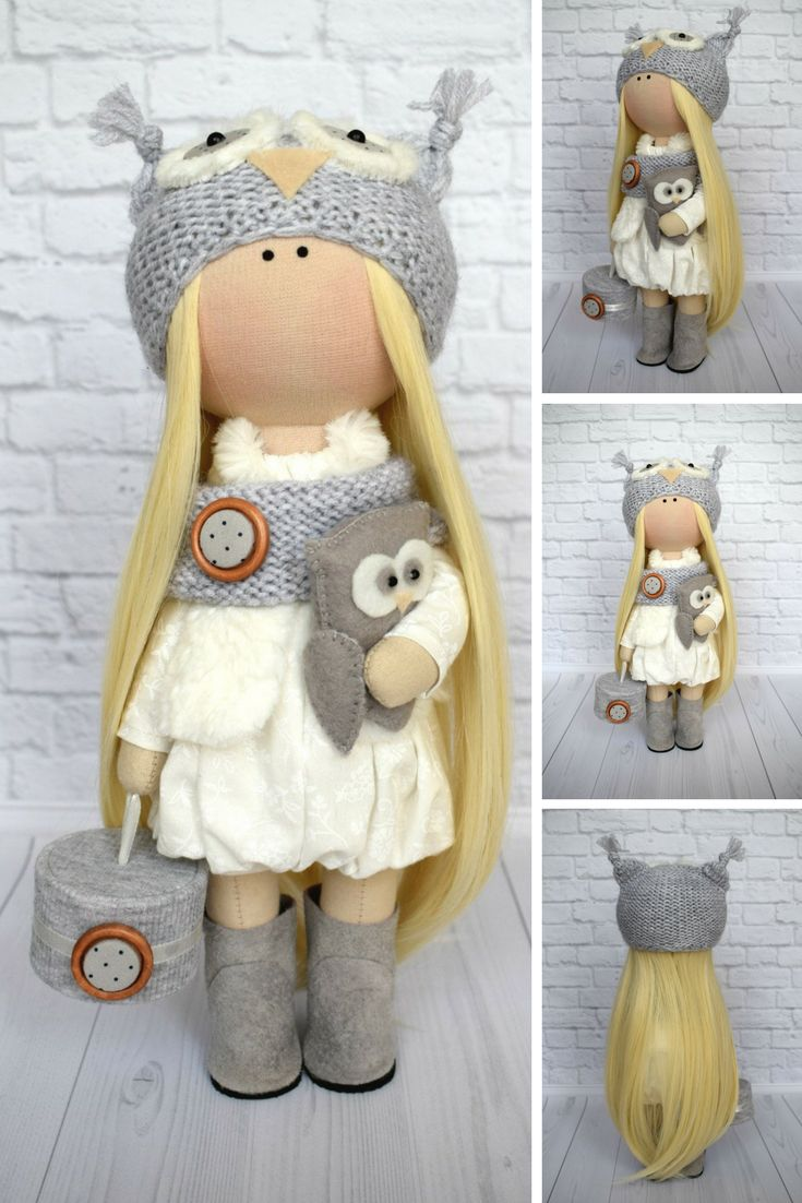 Childrens coloring sheet of a rag doll - Textile Doll Nursery Doll Tilda Doll Art Doll Fabric Doll Handmade Doll Baby Doll Gray Doll Cloth Doll Mu Ecas Collection Rag Doll Olga G