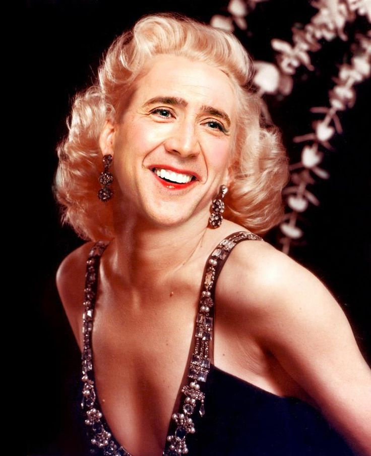 nicholas cage's face on things - Google Search