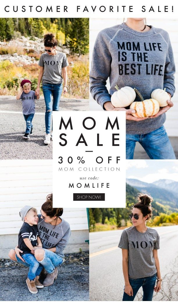 Mom Life is the Best Life // Mom Life Tees // Gifts for Mom // ILY Couture // Mom Fashion