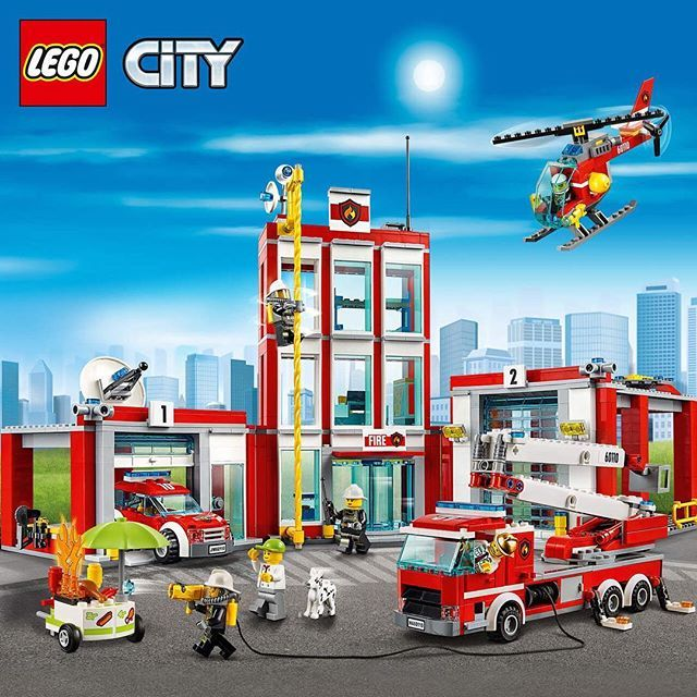 Check out the all-new 60110 LEGO City Fire Station! Learn more about the entire…