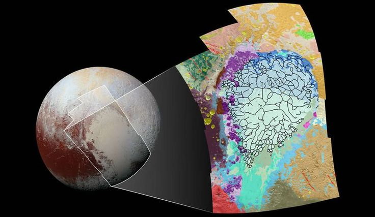 """NASA's Surprising Pluto Discovery: """"Iceberg's Floating on a Roiling Sea of Volatile Nitrogen"""""""