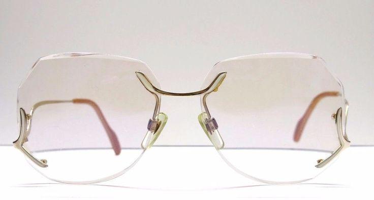 Vintage Metzler En Vogue / randlose Brille / 70er Jahre Fashion glasses