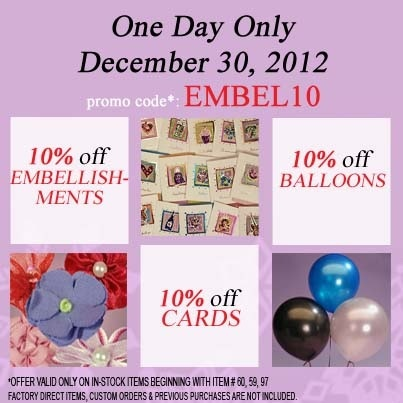 9 best paper mart coupon codes images on pinterest coupon codes 10 off embellishments cards and balloons use coupon code embel10 mightylinksfo Images