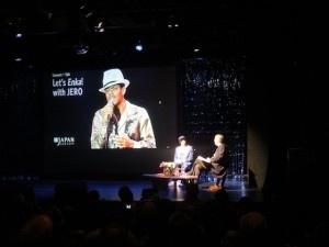 Let's Enka! Jero speaks to John Wheeler before his show at Japan Society.