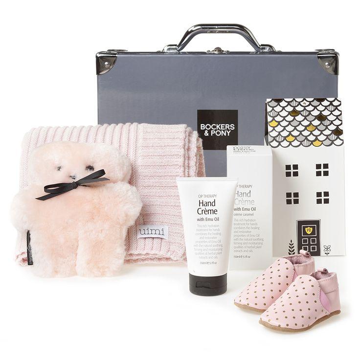 Grand Baby Girl Luxury Hamper | Luxury Baby Gift Hampers | Bockers and Pony