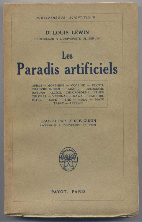 Les Paradis artificiels - Baudelaire