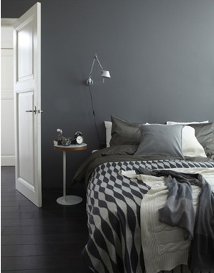 #Grey #bedroom #cosy