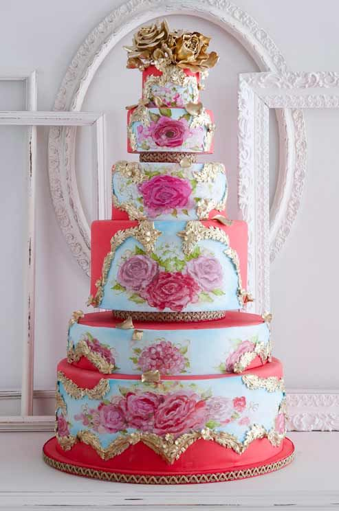Cake Opera Co Floral Tier