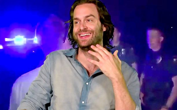 Video: Chris D'Elia didn't wash his hand for days after meeting Jim Carrey, and other confessions | EW.com