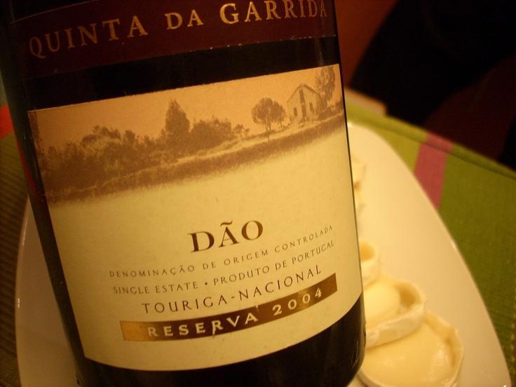 Quinta da Garrida: O Touriga Nacional de 2004