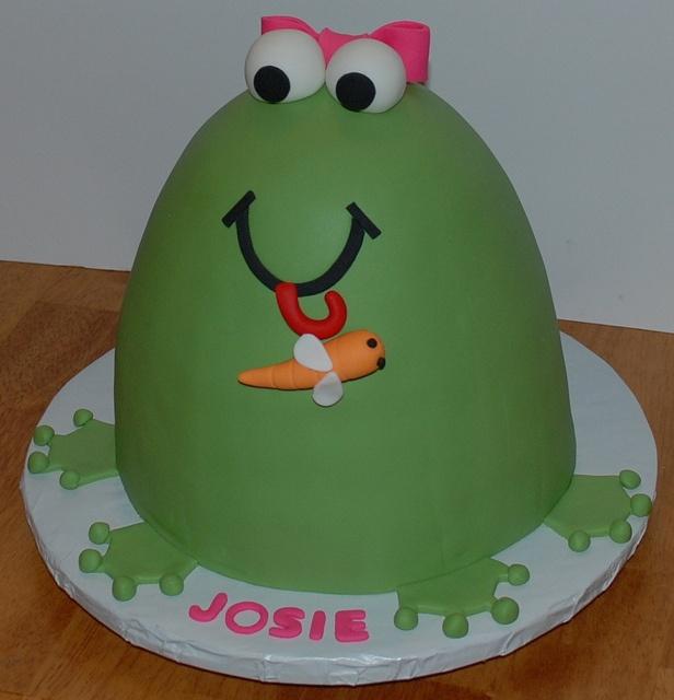 Frog Cake ~ so cute!