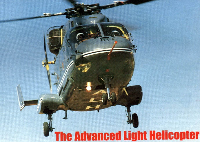 First flight of the HAL Dhruv multi-role helicopter 20/8 1992.