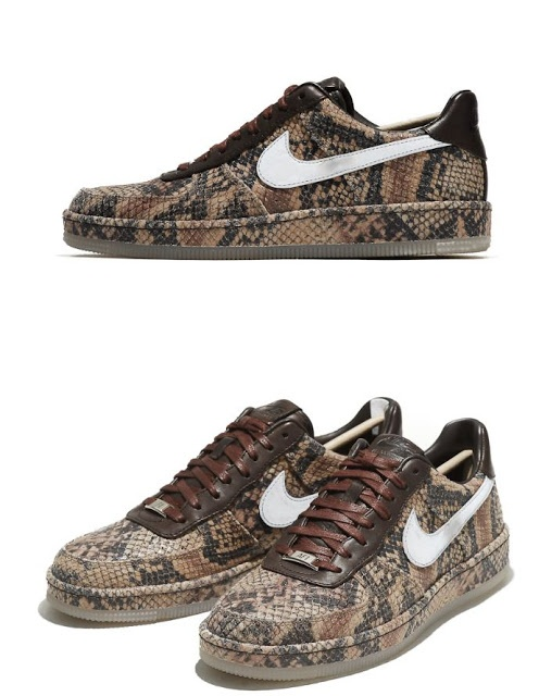 Nike Air Force 1 Downtown Python Sneaker