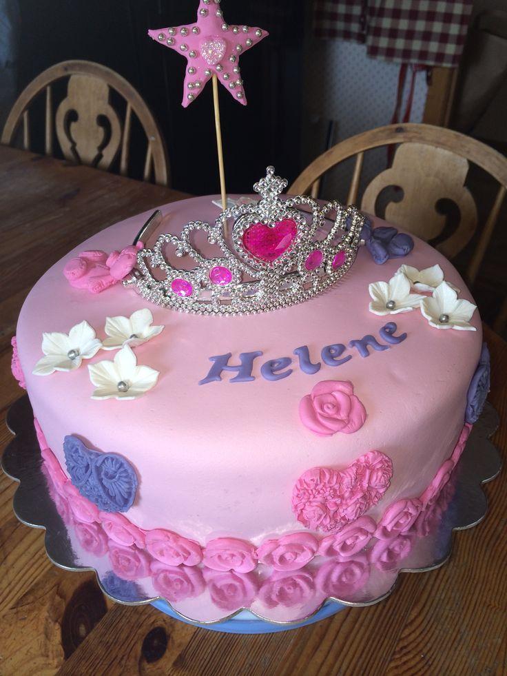 Bursdagskake, prinsesse