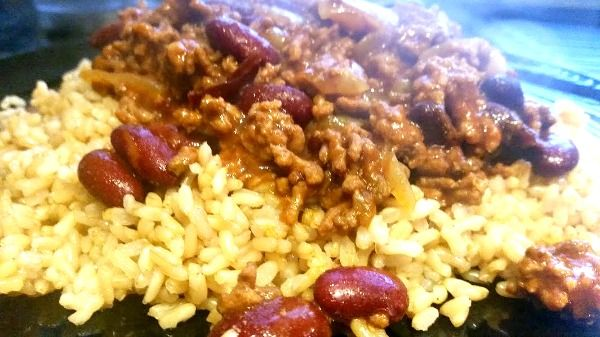 budget meals homemade chilli con carne. #easyrecipes #food #family