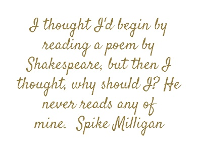 Spike Milligan via brainyquote