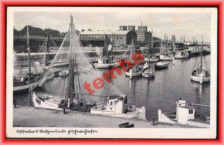 USTKA Stolpmunde Fischereihafen łodzie rybackie (5020176887) - Allegro.pl - Więcej niż aukcje.