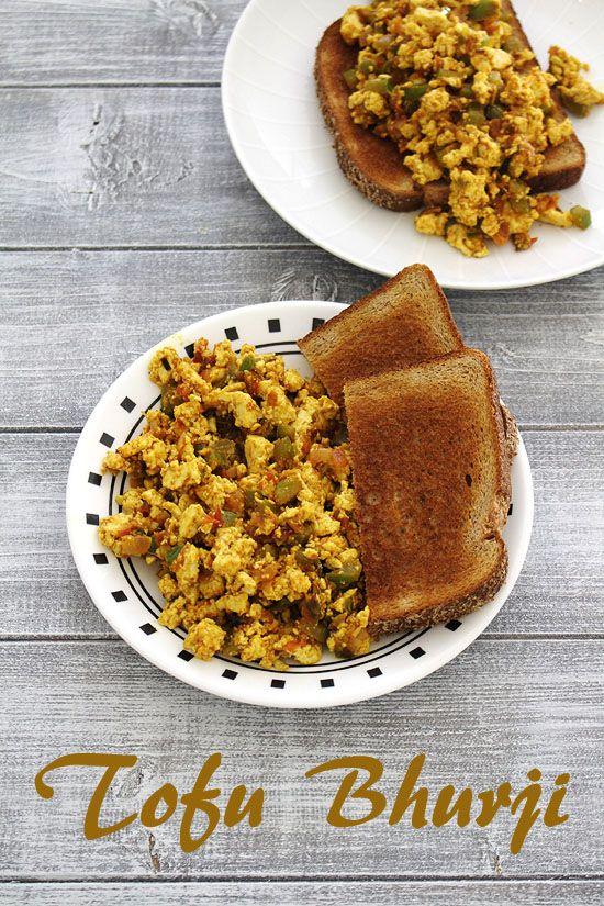 Tofu bhurji recipe (How to make tofu bhurji), Indian scrambled tofu
