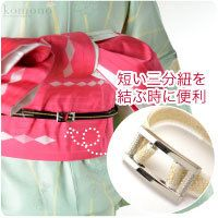 [women-obi-jime] Easy buckle for Obijime with no box [Designed in Japan]