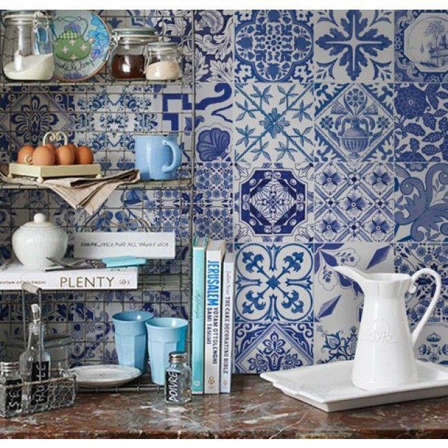 115 best images about adesivos decorativos on pinterest for Azulejos decorativos