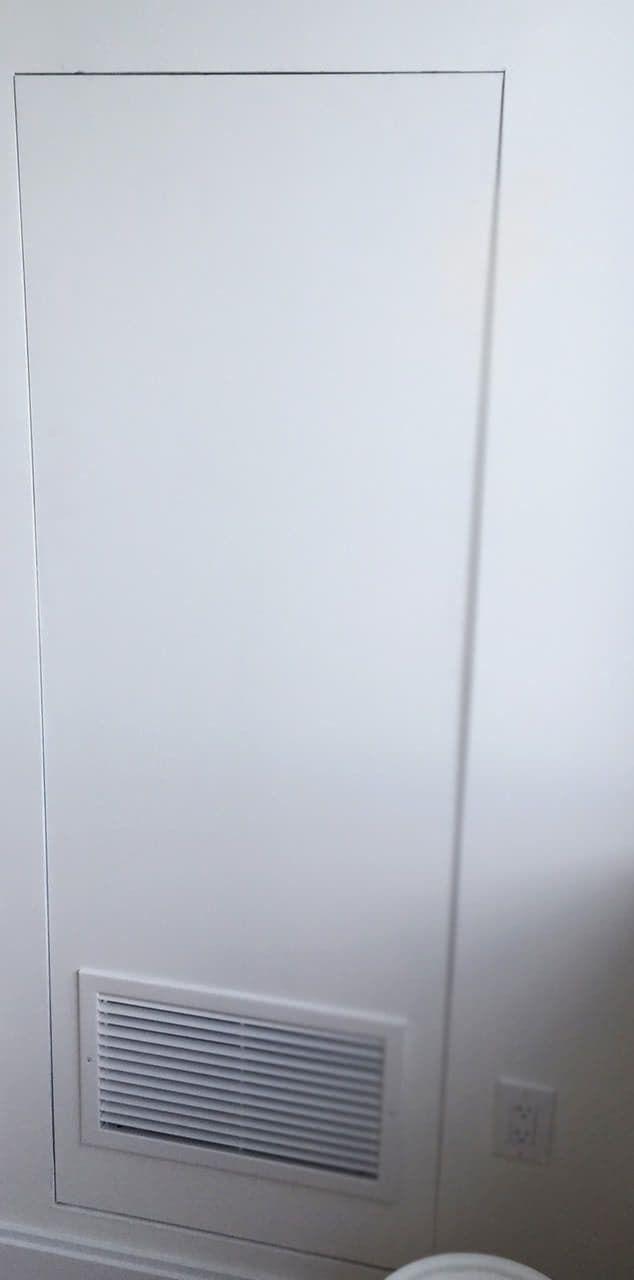 Drywall Inlay Hidden Air Handler Access Door Air Handler Doors Drywall