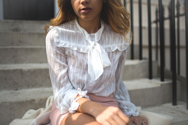 A Style Diary by Samantha Maria : THE RUFFLE