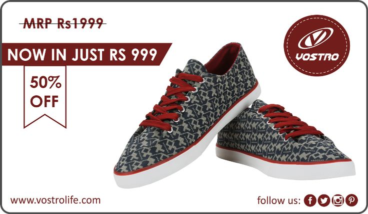 Awesome shoes worth Rs 1999 now in just Rs 999, Shop Hurry!  http://vostrolife.com/men/everyday/vostro-storm22-black-men-casual-shoes-vcs0441