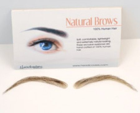 Cardani Realistic Human Hair Eyebrows #15 - Stick On Eyebrow Wig