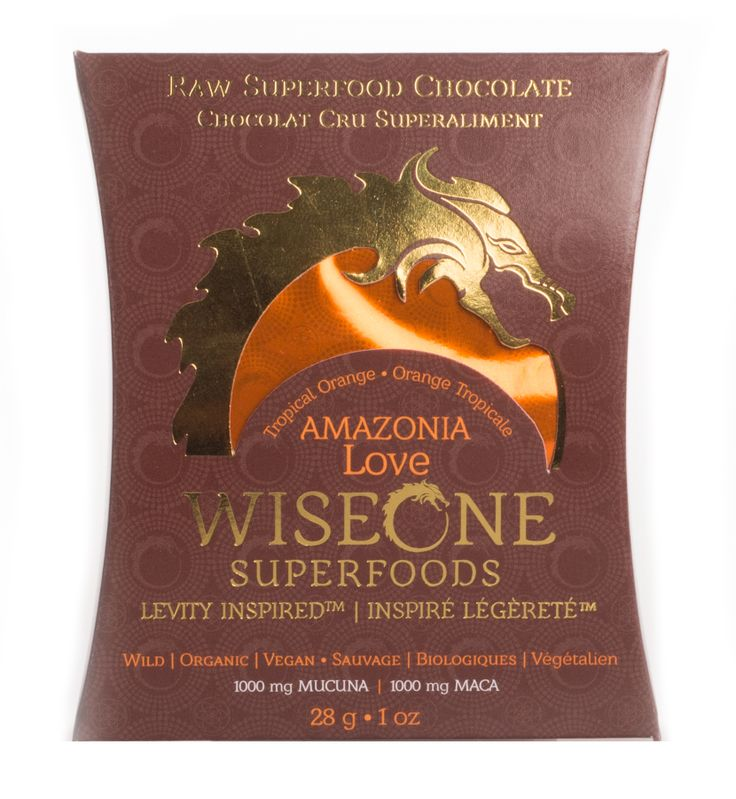 Amazonia Love ~ Tropical Orange ~ An explosive blend of rainforest fuel, this WISE chocolate is a first class ticket to tropical bliss. ~